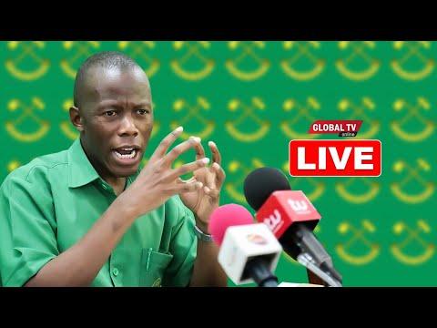 """🔴#LIVE: CCM Wailipua CHADEMA kuhusu WIMBO wa TAIFA, Amvaa LISSU - """"TUTAWAFUNDISHA ADABU"""""""