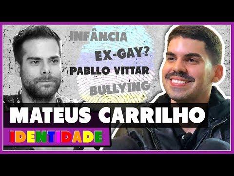 MATEUS CARRILHO é EX-GAY? Como conheceu PABLLO VITTAR - IDENTIDADE - Põe Na Roda
