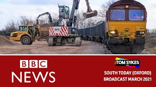 HS2 Site Exclusive - BBC South Today
