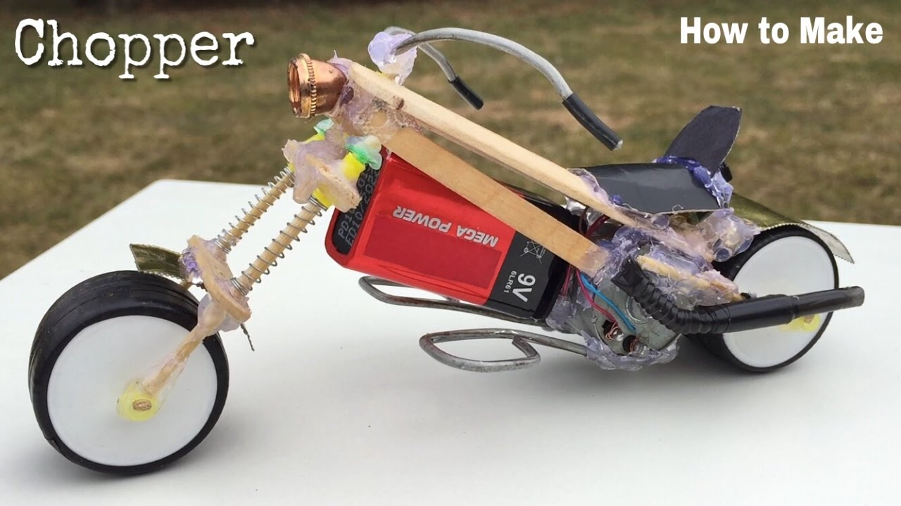 How to make a motorcycle 49