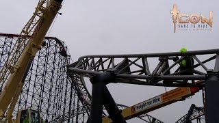 ICON Constrcution Timelapse Blackpool Pleasure Beach thumbnail