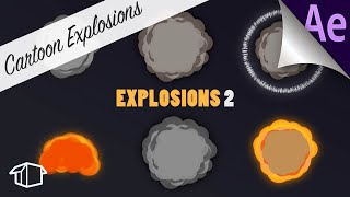 Wie man 2D-Explosionen - After Effects Tutorial (Keine Plugins!)