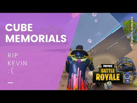Fortnite Season X All Cube Memorial Locations Worlds