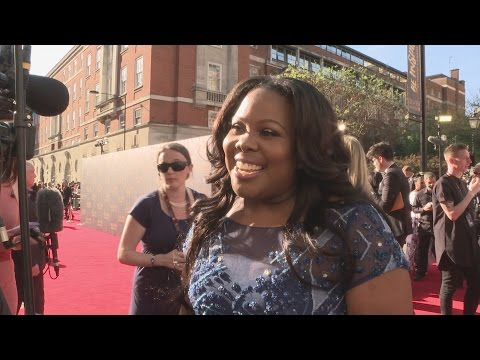 Olivier Awards: Amber Riley on Jennifer Hudson watching Dreamgirls