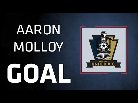 GOAL | Aaron Molloy Hits a Rocket | Lehigh Valley at Reading United