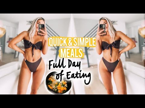 WHAT I EAT IN A DAY! HEALTHY MEAL IDEAS