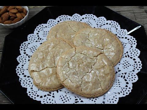 Almond Cookies From My Childhood/Mиндальное пирожное. Very Unusual Recipe!