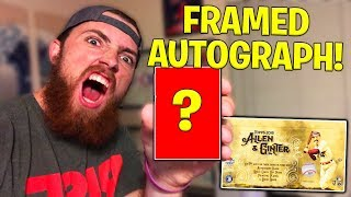 Framed Autograph Pull! 2018 Topps Allen & Ginter Hobby Box IRL Pack Opening