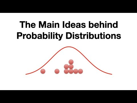StatQuest:  What is a statistical distribution?