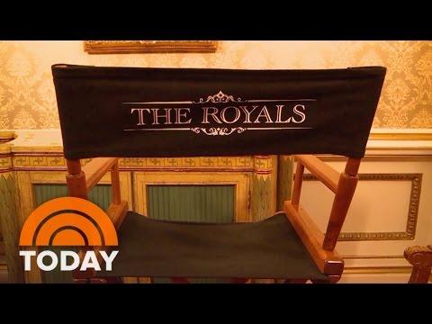 'The Royals' Season 2 Sneak Peek Behind The Scenes | TODAY