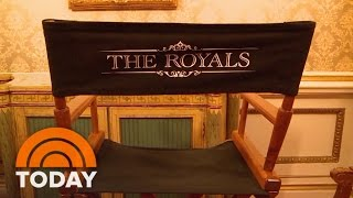 'The Royals' Season 2 Sneak Peek Behind The Scenes | TODAY