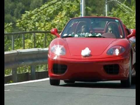 Matrimonio In Ferrari : In fuga con una ferrari dopo il matrimonio youtube