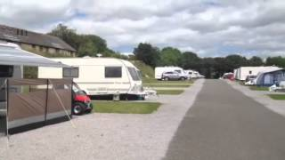 Looe caravan club site