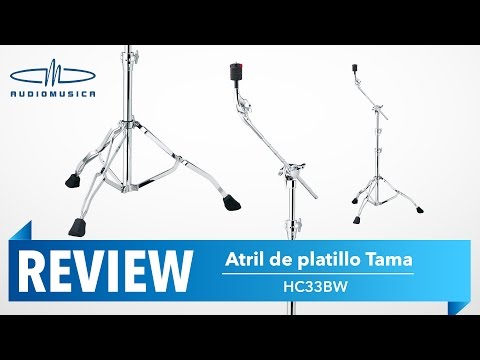 REVIEW / Atril de platillo HC33BW con boom  Tama