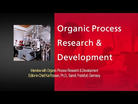 Interview with Organic Process Research & Development Journal, Editor-in-Chief Kai Rossen, Ph.D.