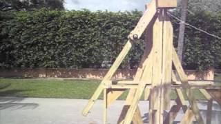 Floating Arm Trebuchet-with Plans In Description