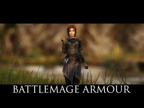 skyrim black mage armor mod