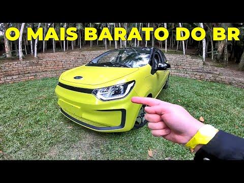 JAC e-JS1: O CARRO ELÉTRICO MAIS BARATO DO BRASIL