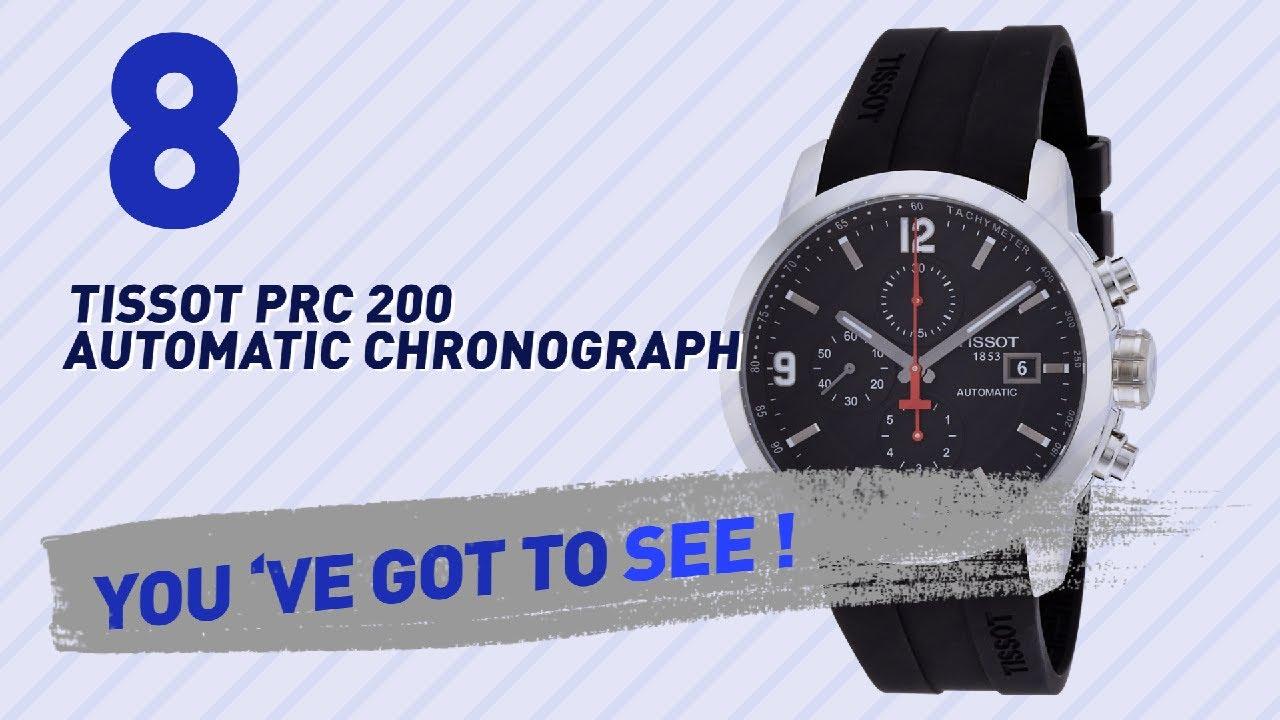 ec81afffc33 Top 10 Tissot Prc 200 Automatic Chronograph    New   Popular 2017 ...