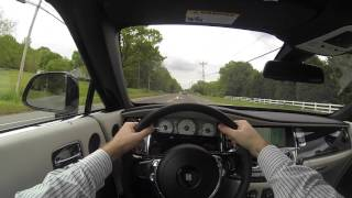 2016 Rolls Royce Dawn (Top Up) POV Test Drive