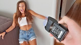 TASER MEETS GIRLFRIEND!