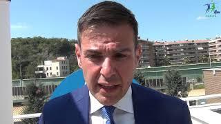 17-04-2019: Chicco Blengini e l'obiettivo a 5 cerchi che passa per Bari