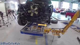 Додж Рам замена лонжерона | Dodge из США | Ремонт авто из США | Ремонт переднего удара в США