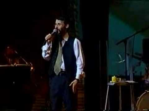 Avraham Fried at the Hebron concert 2001 Part 7