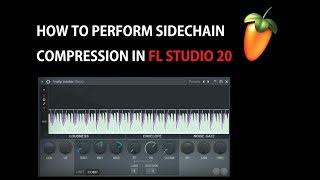 How To Sidechain Using Fruity Limiter In Fl Studio 20 Sidechain Compression Tutorial