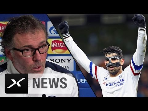 "Laurent Blanc: Diego Costa? ""Nicht auf Provokationen einlassen"" 