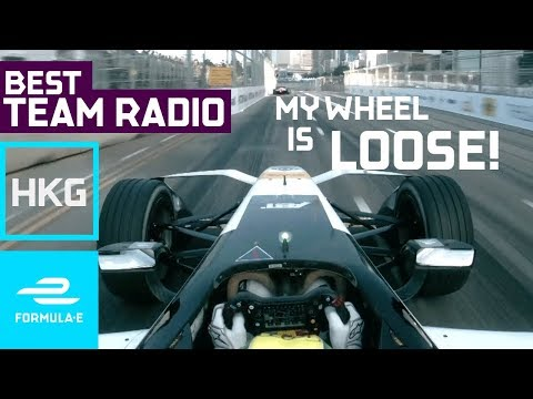 'My Wheel Is Loose!' | Best Team Radio Hong Kong Round 1 |  Formula E