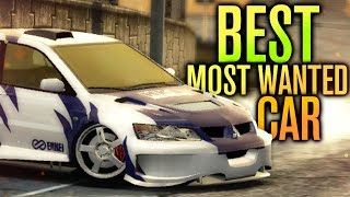 BEST MOST WANTED CAR!!! | Need for Speed Most Wanted Let
