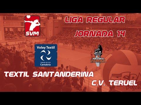 Retransmisión Textil Santanderina vs CV Teruel