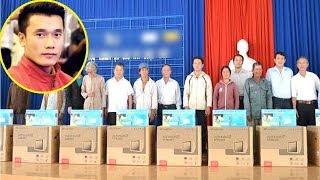 174 hộ nghèo ở quê Thủ môn Tiến Dũng được tặng tivi xem chung kết U23 - TIN TỨC 24H TV