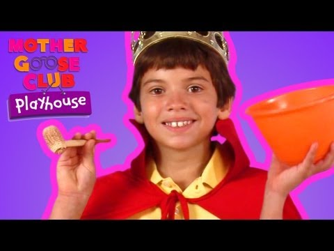 Old King Cole | Mother Goose Club Playhouse Kids Video