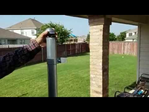 Fence Metal Post Extension YouTube