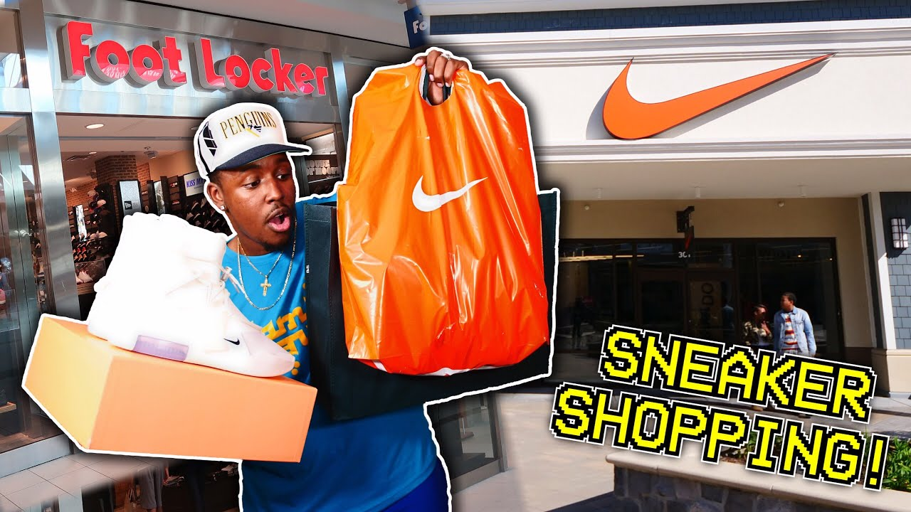 Download SNEAKER SHOPPING AT THE OUTLET! MAJOR HEAT! SOLD OUT SNEAKERS COPPED AND MALL VLOG!