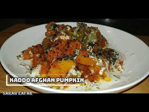 Kaddo or Kadu | Afghan Pumpkin Veggie Dish