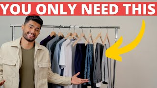 The ONLY 10 Clothing Item A Man Needs In His Closet (30+ Outfits)