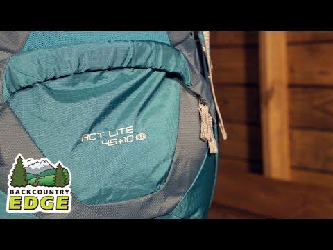 f92a798bda6 Deuter ACT Lite 45+10 SL Women's Internal Frame Backpack - YouTube