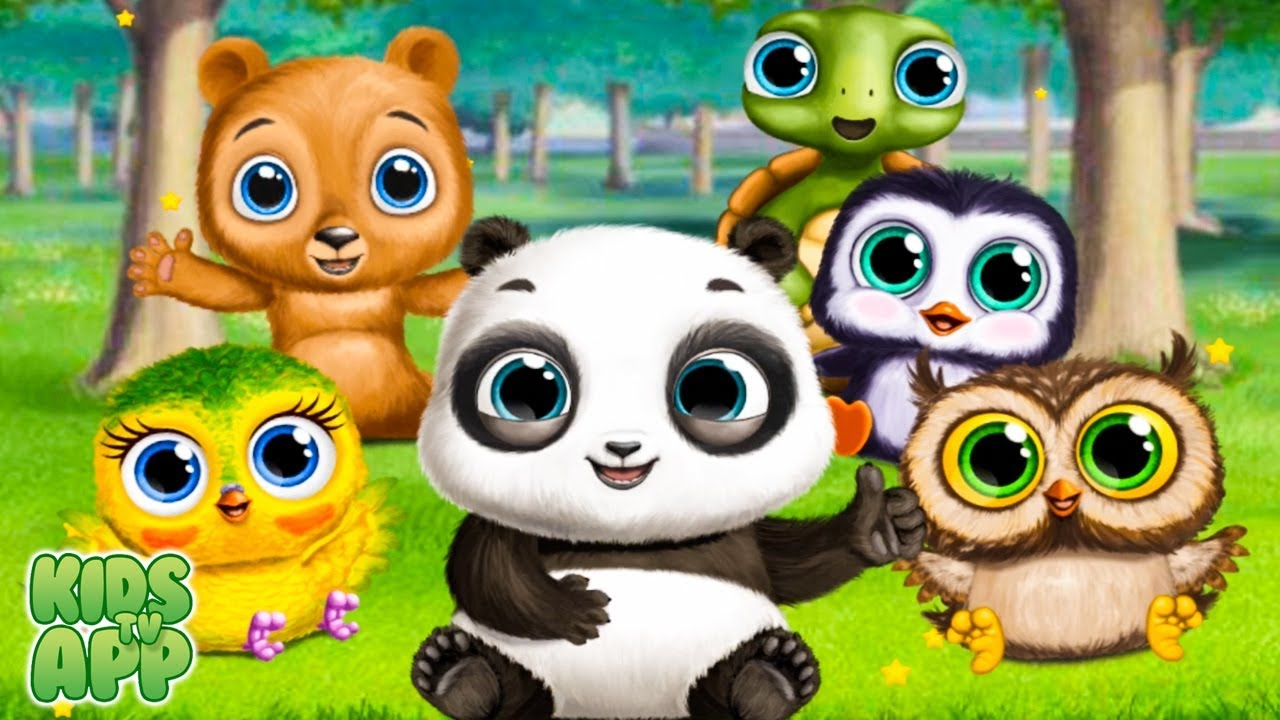 baby panda lu baby bear city fun pet babysitting and care videos