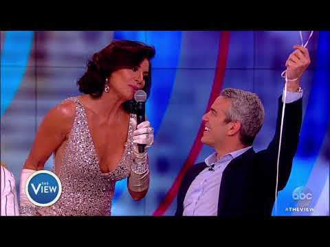 Luann de Lesseps Surprises Andy Cohen With Birthday Serenade  The View