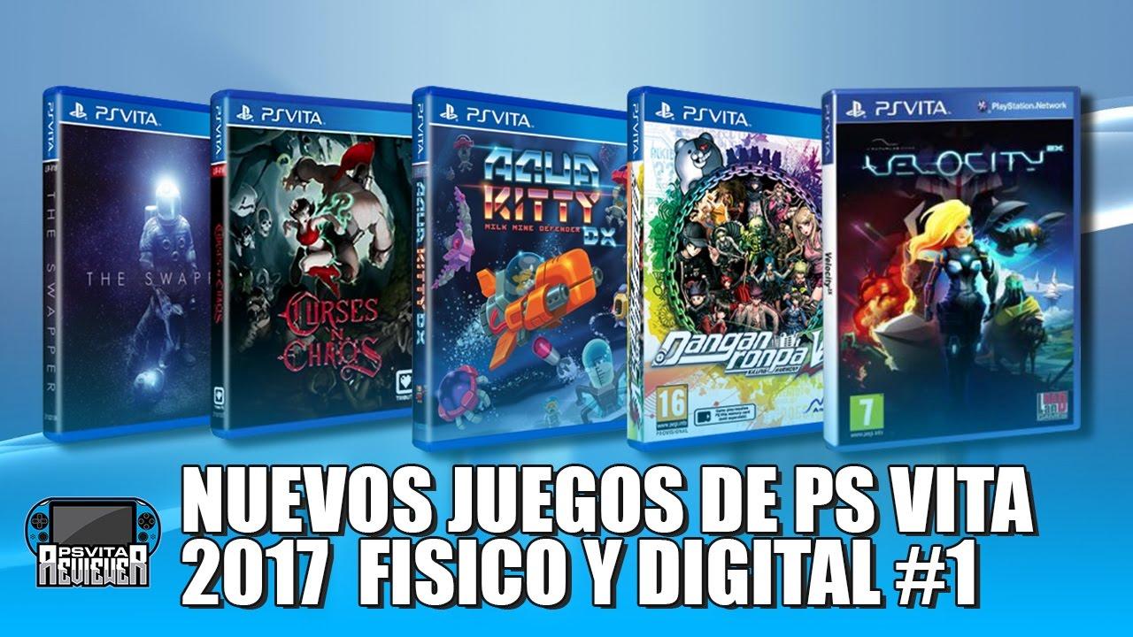Nuevos Juegos De Ps Vita 2017 Formato Fisico Y Digital Youtube