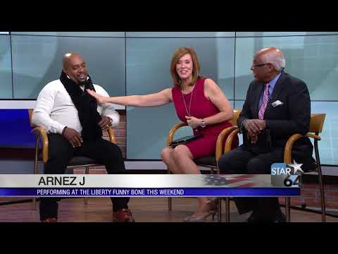 Comedian Arnez J Says It's Time To Get Back To Having Fun In This Country
