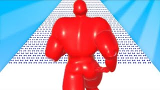 MAX LEVEL in Muscle Race 3D! l Gameplay screenshot 4
