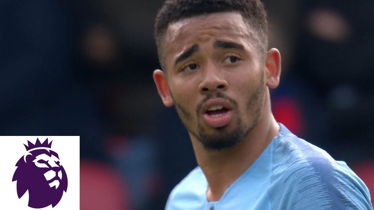 Gabriel Jesus' late score secures victory v. Crystal Palace | Premier League | NBC Sports