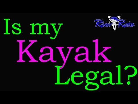 Is My Kayak Legal? U.S. Coast Guard Safety Check