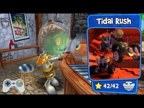 Beach Buggy Racing - Tidal Rush - Full Gameplay - All Stars!!!