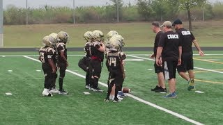 KAMRENS FOOTBALL GAME | FAMILY VLOGS | YOUTH FOOTBALL