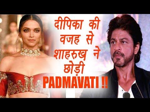 Shahrukh Khan REJECTED Padmavati Because Of Deepika Padukone   FilmiBeat